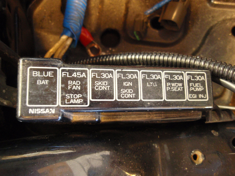 Nissan 300zx Fuse Box Wiring Diagram Forward